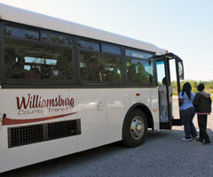 Commuter service to Myrtle Beach and within Williamsburg County